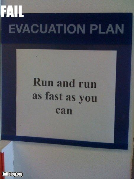 advice fail-owned-evacuation-fail