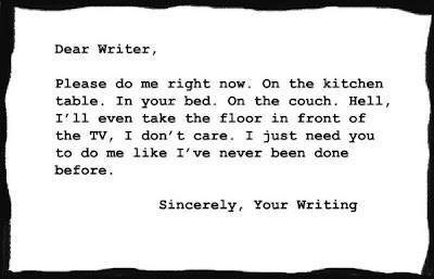 Dear writing